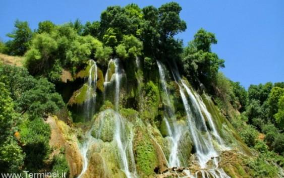 عکسهای فوق العاده از آبشار بیشه